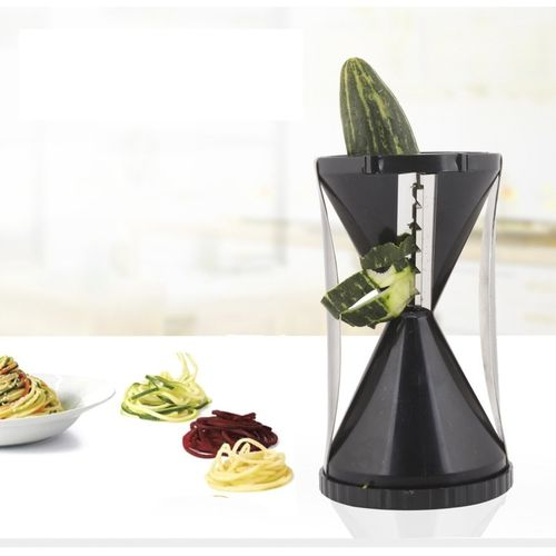 Floraware Spiral Black Color Vegetable & Fruit Slicer(1 slicer)