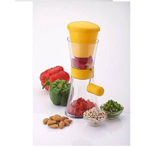Floraware Yellow Chilly & Nut Crusher Vegetable Chopper(1 chopper)