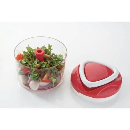Xudo Ganesh Easy Pull Smart Onion chopper /Vegetables/Dry fruits/Nuts Cutter Vegetable Chopper(3 IN 1 chopper)