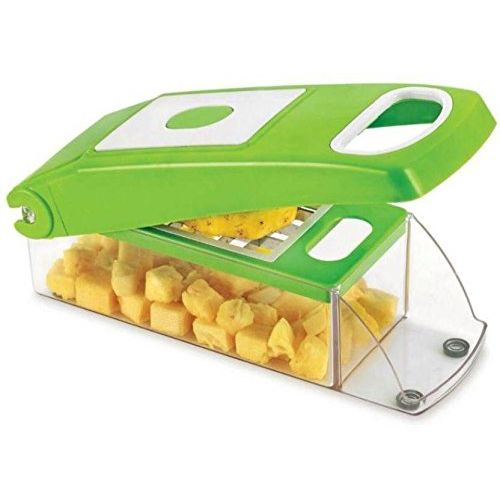 Xudo 100% ABS Plastic Vegetable And Fruit Cutter and Slicer and dicer Chopper (With Unbreakable Quality