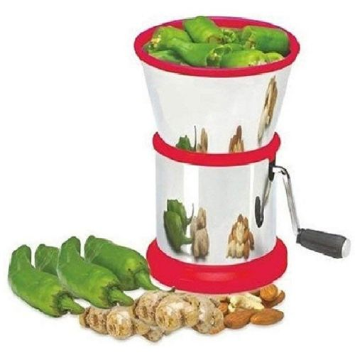VIVAAN Steel Chilly Cutter Vegetables and Dry Fruit Cutter/Stainless Steel Onion Chopper Vegetable Chopper(1 Steel Onion chopper)
