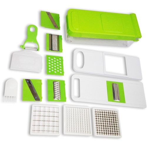 vepson 10 in 1 Vegetable And Fruit Nicer Dicer With Multi Blades Chopper(1 0 in 1 chopper)