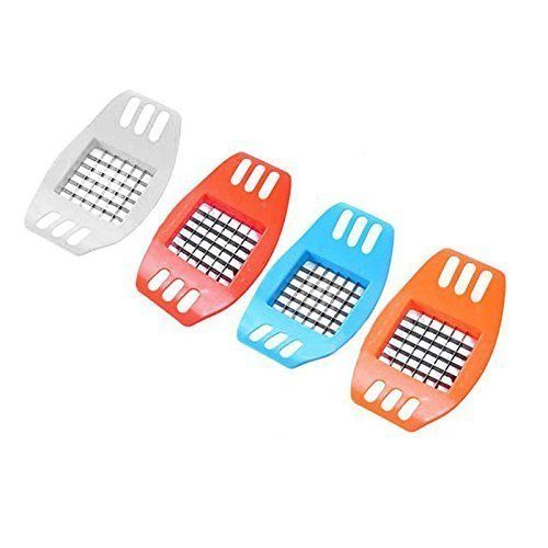 Vepson Potato Cutter Slicer Chopper French Fries Cutter (Multicolor)