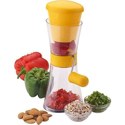 vepson Nestwell Plastic Royal Chilly Cutter Vegetable & Fruit Chopper (Multicolor)