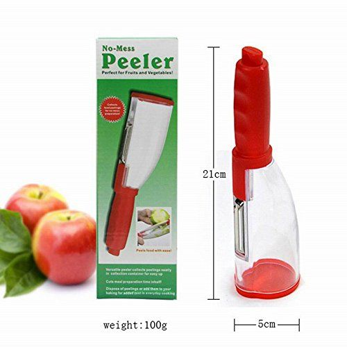 Vepson No Mess Peeler Potato and Vegetables Cutter Peeler