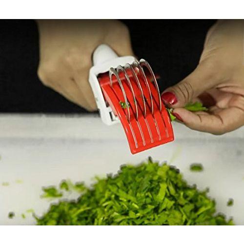 vepson Nestwell Multi Veg Cut 5 Laser Blade Vegetable & Fruits Cutter Chopper Slicer for Home Kitchen(Multicolor)