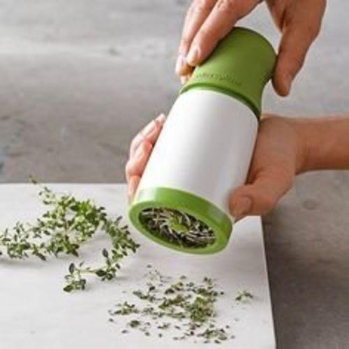 Vepson Herb Grinder Spice Mill Shredder Chopper Cutter (Green)