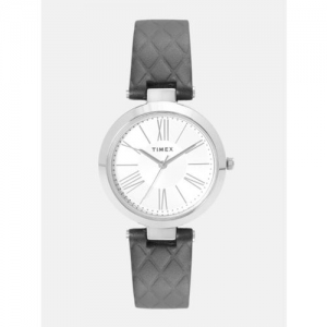 Timex Women Silver-Toned Analogue Watch TWEL11800