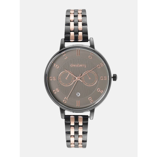 DressBerry Women Taupe Analogue Watch MFB-PN-WTH-K0056L-2