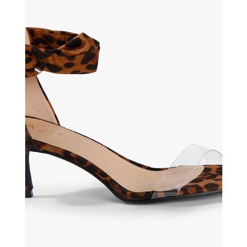 AJIO Animal Print Stilettos