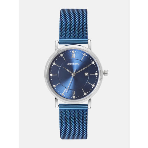 DressBerry Women Blue Analogue Watch MFB-PN-WTH-K0049L-2