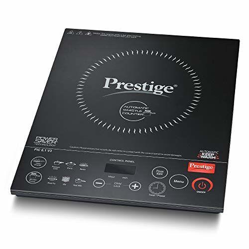 Prestige PIC 6.1 V3 2200-Watt Induction Cooktop (Black)