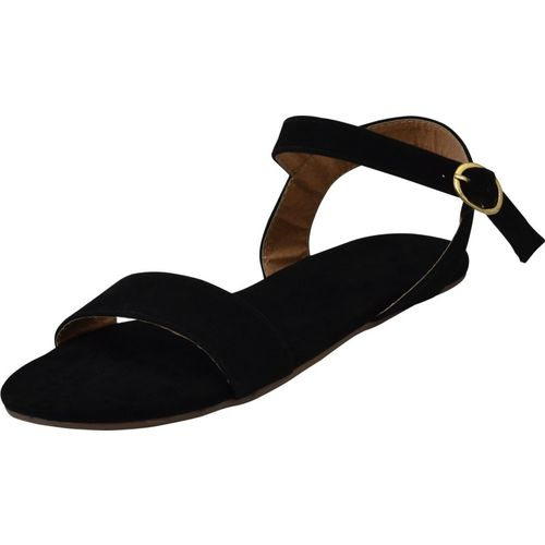 Jasta Women Black Flats