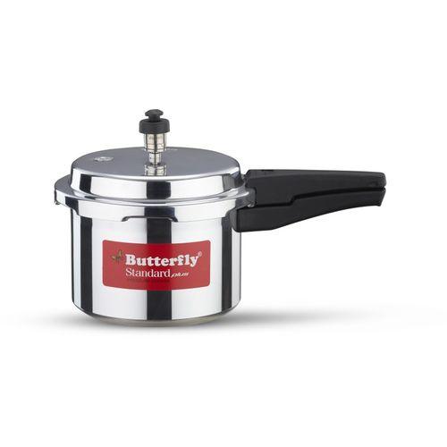Butterfly STANDARD PLUS 3 L Induction Bottom Pressure Cooker(Aluminium)