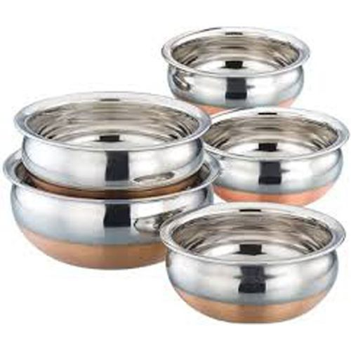 Jalpan Chetty Pan 18 cm diameter(Stainless Steel)