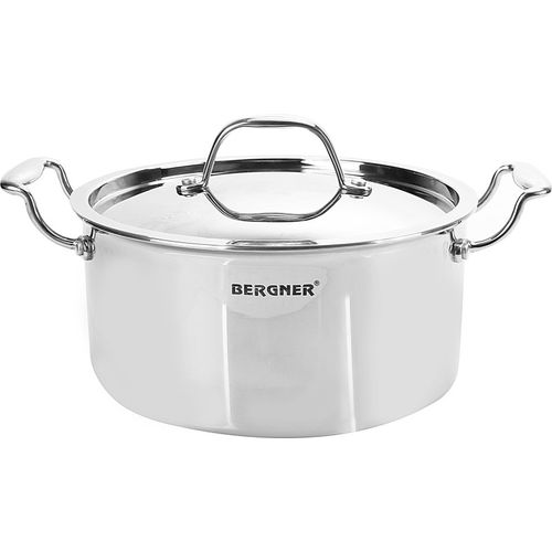 Bergner Argent Tri-Ply Cook and Serve Casserole(3.1 L)