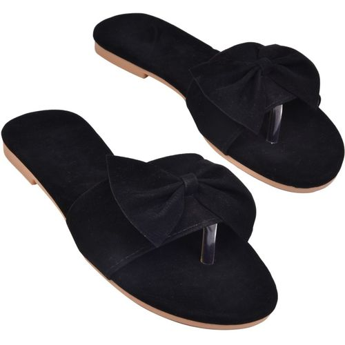 BK DREAM Women Black Flats