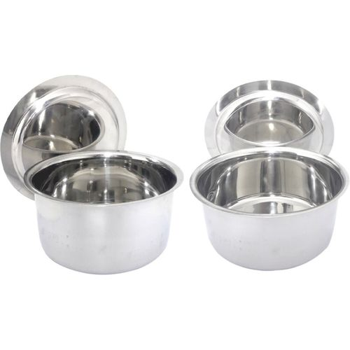 bartan hub Induction Bottom Cookware Set(Stainless Steel, 2 - Piece)