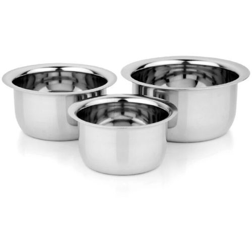 Vimal VIMAL TOPE-9CS SET Pot 1 L(Stainless Steel, Induction Bottom)