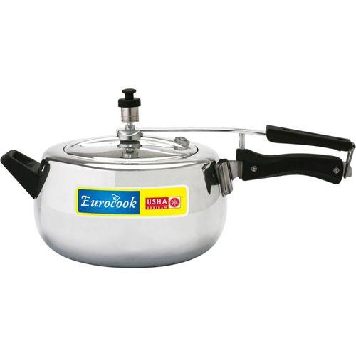 Usha Shriram Induction Base Pressure Handi 3.5 L Induction Bottom Pressure Cooker(Aluminium)