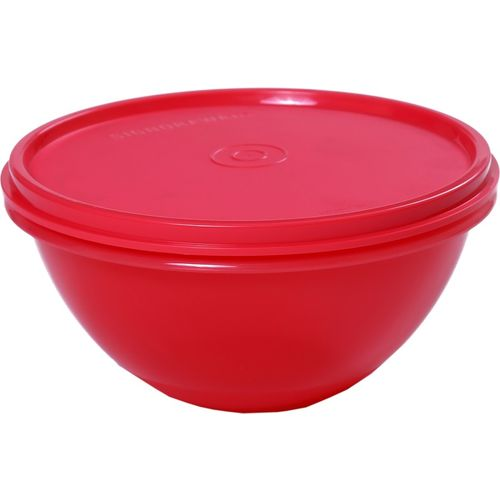 Signoraware Wonder Bowl No. 2 - 800 ml Plastic Grocery Container(Red)