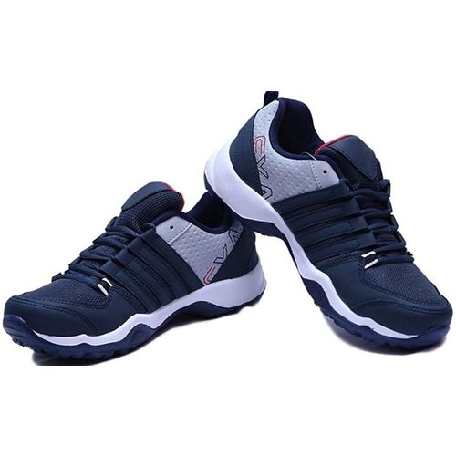Clymb Running Shoes For Men(White, Blue)