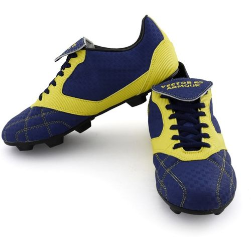 886e559b5387 Buy Vector X Armour Football Shoes For Men(Blue, Yellow) online ...