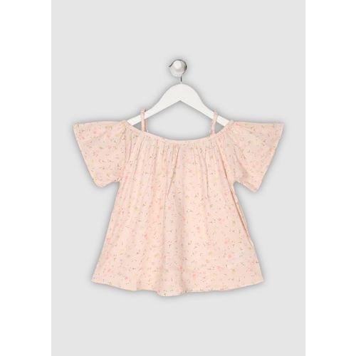 Gini & Jony Baby Girls Casual Cotton Blend Top(Pink, Pack of 1)