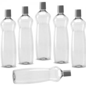 Milton Pacific fridge bottle 1000ml 6000 ml Bottle(Pack of 6, Multicolor)