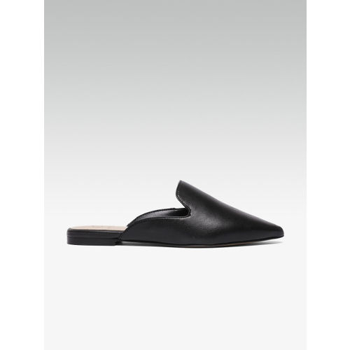 Carlton London Women Black Solid Mules