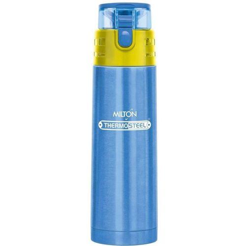 Milton Thermosteel Atlantis 400 water Bottle Blue 400 ml Bottle(Pack of 1, Blue)