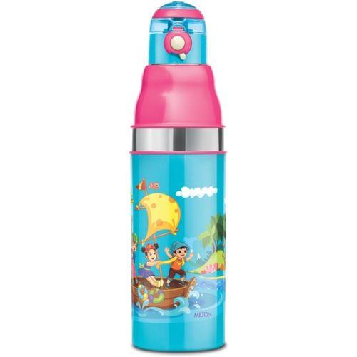 Milton KOOL STUNNER-600 Inner Steel Water Bottle for Kids 520 ml Bottle(Pack of 1, Blue)