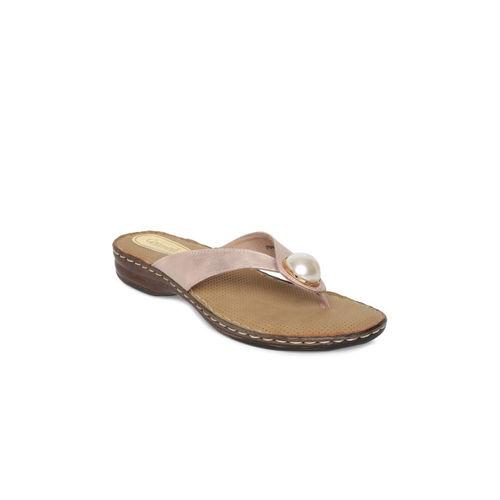 Catwalk Women Pink Solid Open Toe Flats