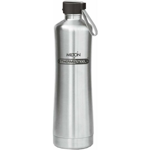 Milton Thermo Steel Tiara 1100 900 ml Bottle(Pack of 1, Brown)