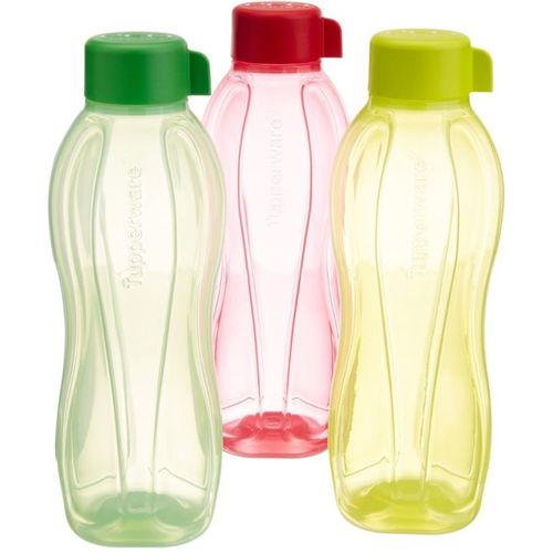 Tupperware 1000 ML 1000 ml Bottle(Pack of 3, Red, Green, Yellow)