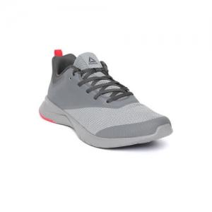 Reebok Men Grey Print Lite Rush 2.0 Colourblocked Running Shoes