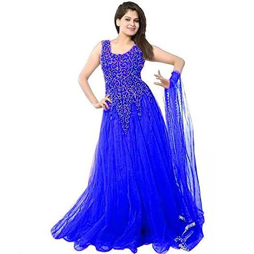 V-KARAN V KARAN woman's Net Party Wear Gown