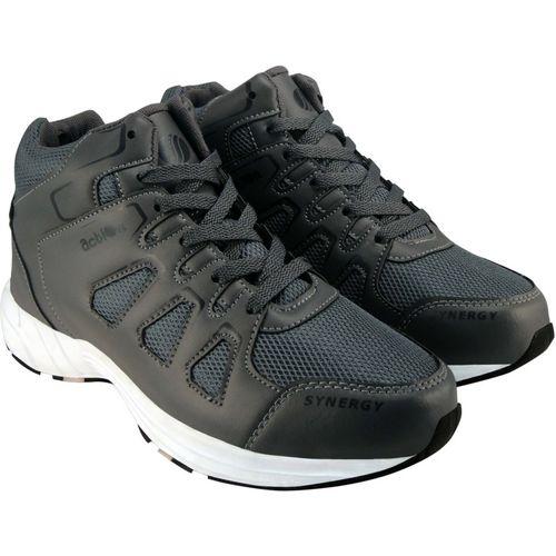 Action Synergy Men's SRH0025 GreyBlack Sports Running Shoes Running Shoes For Men(Black, Grey)