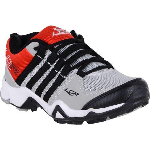 Lancer Running Shoes For Men(Red, Grey
