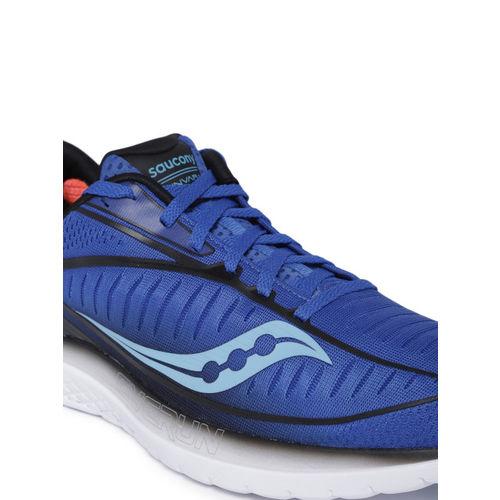 saucony Men Blue KINVARA 10 Sneakers