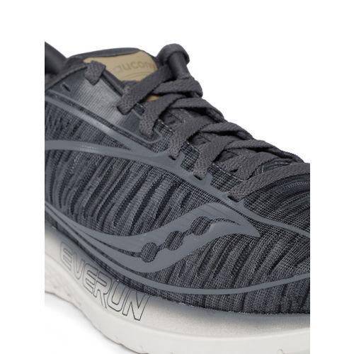 dffc0b6b Buy saucony Men Grey KINVARA 10 Sneakers online   Looksgud.in
