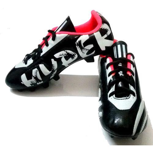 GLS Unisex FX 73 Football Studs Football Shoes For Men(Black, Grey)