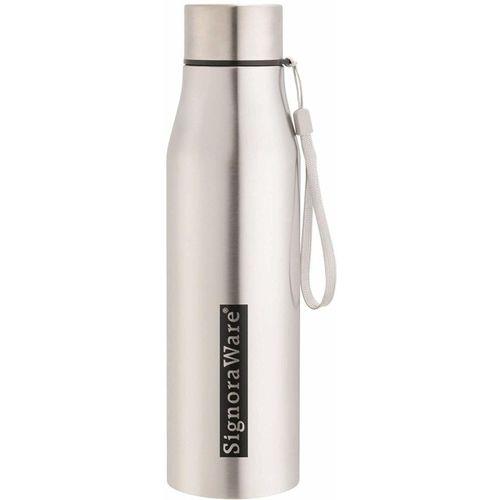 Signoraware Blaze 1000 ml steel water bottle 1000 ml Bottle(Pack of 1, Silver)