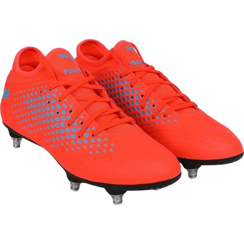 Puma FUTURE 19.4 SG Football Shoes For Men(Orange)