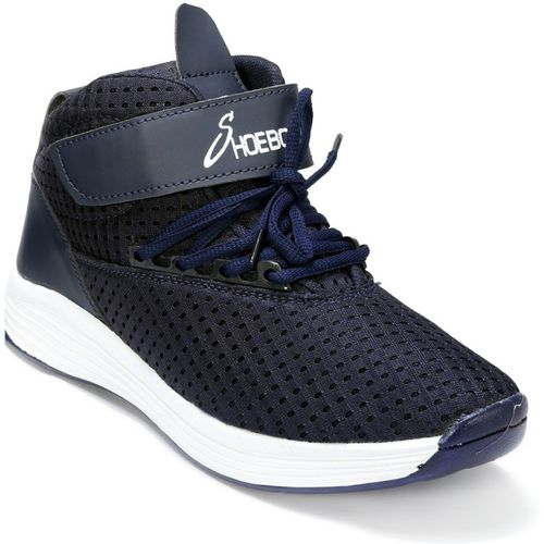 Shoebook Shoebook Sports Shoes with Velcro Running Shoes For Men(Navy)