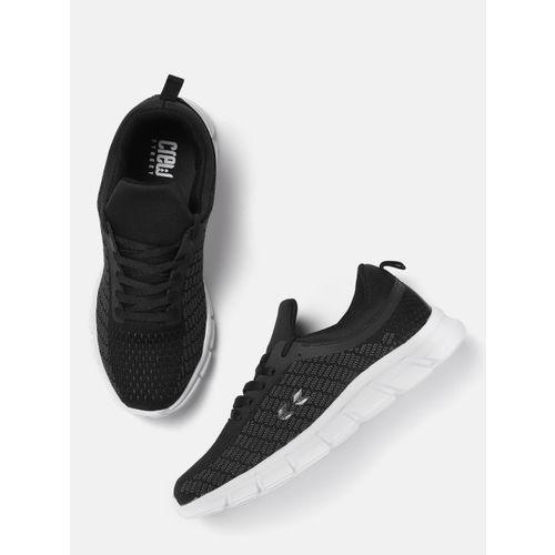Crew STREET Men Black Running Shoes
