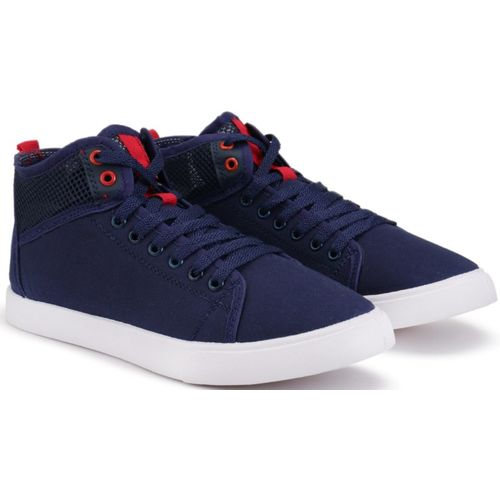Clymb Canvas Shoes For Men(Navy)