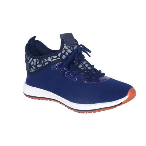 Shoebook Walking Shoes For Men(Navy, Grey)
