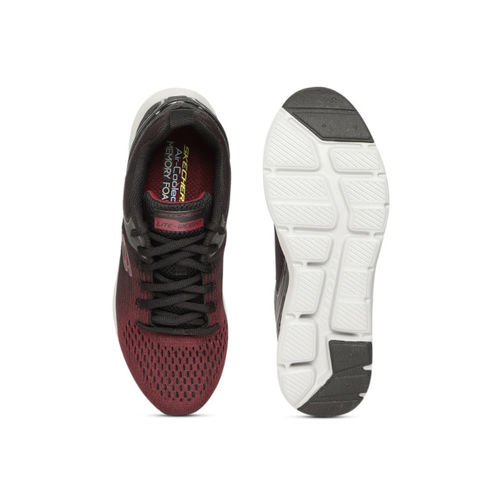 Skechers Men Maroon & Black Nichlas Training Shoes