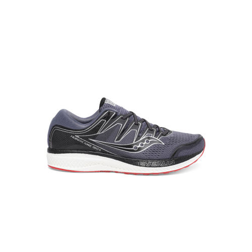 saucony Men Lavender HURRICANE ISO 5 Running Shoes